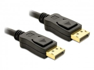 Delock Kabel DISPLAYPORT M/M 5m GOLD